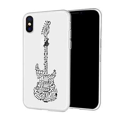 voordelige iPhone 5 hoesjes-hoesje Voor Apple iPhone XS / iPhone XR / iPhone XS Max Patroon Achterkant Cartoon / Punk Zacht TPU