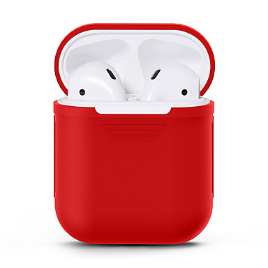 abordables Ecouteurs & Casques Audio-Étui pour écouteurs Silicone complet Noir / Rouge / Rose Claire 1 pcs