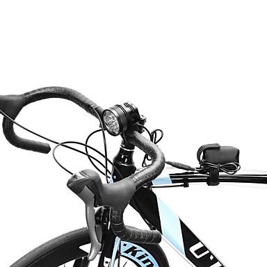 cheap Headlamps-LED Bike Light Headlamps Bike Light Cree® XM-L T6 Cycling Rechargeable 18650 10000 lm Battery White Camping / Hiking / Caving Cycling / Bike Hunting