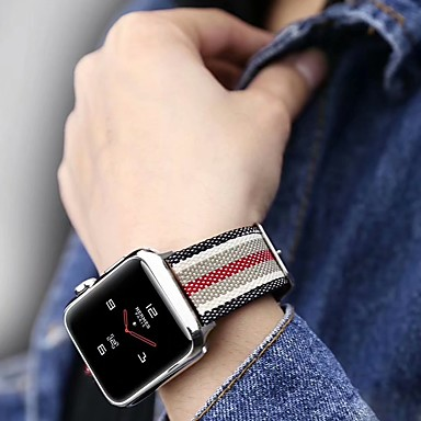 Watch Band for Apple Watch Series 4/3/2/1 Apple Classic Buckle Nylon Wrist Strap