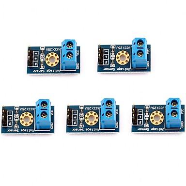 billige Moduler-5 stk max 25v spændingsdetektor rækkevidde 3 terminal sensor modul til arduino
