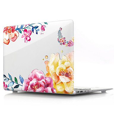 MacBook Carcase Floare PVC pentru MacBook Pro Retina kijelzős, 13 hüvelyk / MacBook Air 13-inch / New MacBook Air 13