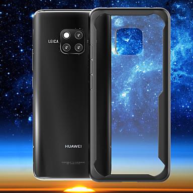 voordelige Huawei Mate hoesjes / covers-hoesje Voor Huawei Mate 10 / Mate 10 pro / Huawei Mate 20 lite Ultradun / Transparant Achterkant Effen Hard PC
