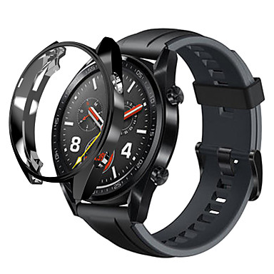 Недорогие Ремешки для часов Huawei-Кейс для Назначение Huawei Huawei Watch Силикон Huawei
