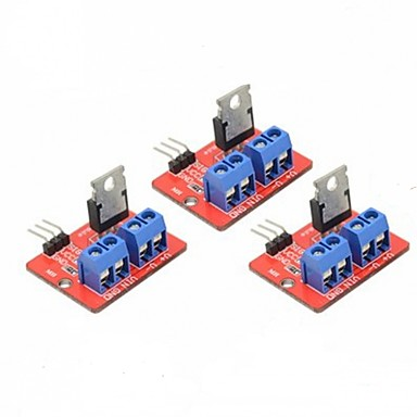3 PCS IRF520 MOSFET Driver Module for Arduino Raspberry Pi 7212237