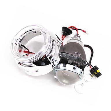 H10 / 9004 / 9007 Motorcycle / Car Light Bulbs 35-55 W High Performance LED 3000 lm HID Xenon Headlamps For Volkswagen / Toyota / Suzuki Outlander / Malibu / Mazda3 All years