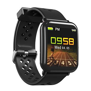 זול שעונים חכמים-DM06 יוניסקס חכמים שעונים Android iOS Blootooth Smart ספורטיבי עמיד במים מוניטור קצב לב מודד לחץ דם ECG + PPG שעון עצר מד צעדים מזכיר שיחות מד פעילות
