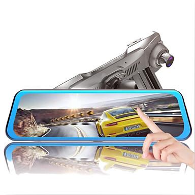 Недорогие Новые поступления-1080p Ночное видение Автомобильный видеорегистратор 170° Широкий угол 9.7 дюймовый IPS Капюшон с Ночное видение Автомобильный рекордер