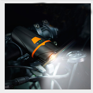 رخيصةأون اضواء الدراجة-LED اضواء الدراجة ضوء LED ضوء الدراجة الأمامي مصابيح الدراجة XP-G2 دراجة جبلية ركوب الدراجة ضد الماء محمول سهل التركيب li-بوليمر 450 lm بطارية قابلة لإعادة الشحن أبيض Camping / Hiking / Caving أخضر