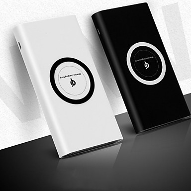 ieftine Acumulatoare-10000 mAh Pentru Baterie Externa Baterie Externa 5 V Pentru 2.1 A Pentru Baterie Încărcător Wireless LED