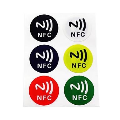 billige Adgangskontrolsystemer-5YOA 6ColorNFC213 RFID-knapper Hjem / lejlighed / Skole