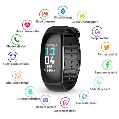 billige Smart Elektronik-KUPENG B70 Smart Armbånd Android iOS Bluetooth Smart Sport Vandtæt Pulsmåler Blodtryksmåling Skridtæller Samtalepåmindelse Aktivitetstracker Sleeptracker Stillesiddende Reminder / Vækkeur / Lyssensor
