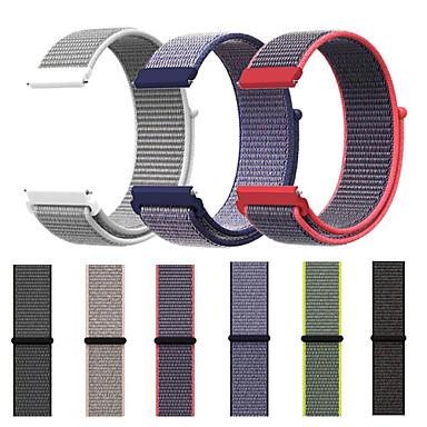 voordelige Horlogebandjes voor Samsung-Horlogeband voor Gear Sport / Gear S2 / Gear S2 Classic Samsung Galaxy Sportband Nylon Polsband