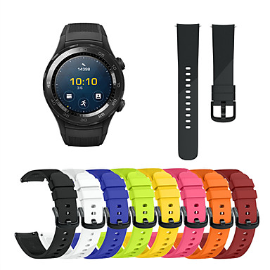 cheap Smartwatch Accessories-Watch Band for Huawei Watch 2 Huawei Sport Band Silicone Wrist Strap
