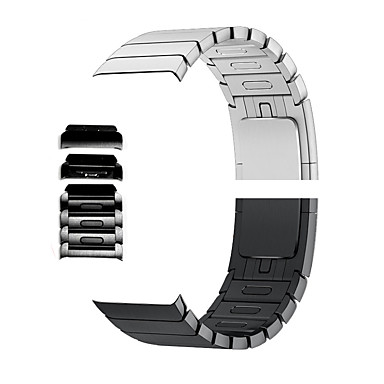 billige Smarturstilbehør-Urrem for Apple Watch Series 5/4/3/2/1 / Apple Watch Series 4/3/2/1 Apple Moderne spænde Rustfrit stål Håndledsrem