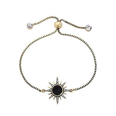economico Bracciali-Per donna Bracciale Classico Solari Alla moda Strass Gioielli braccialetto Oro Per Quotidiano