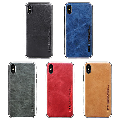billige iPhone-etuier-Etui Til Apple iPhone XS / iPhone XR / iPhone XS Max Stødsikker Bagcover Ensfarvet Blødt Silikone