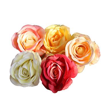 aeea78dd2 Kunstige blomster 5 Gren Klassisk Rustikk Bryllup Roser Bordblomst ...