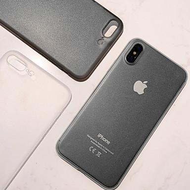 voordelige iPhone X hoesjes-hoesje Voor Apple iPhone XS / iPhone XR / iPhone XS Max Mat Achterkant Transparant Hard PC
