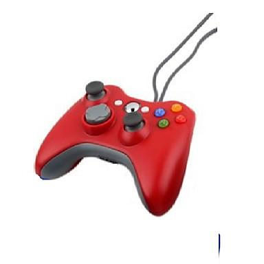 olcso Xbox 360 tartozékok-vezetékes usb játékpad kezeli a joypad vezérlőt a Microsoft Xbox 360 konzolhoz