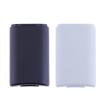 olcso Xbox 360 tartozékok-vezeték nélküli vezérlő újratölthető akkumulátor fedele az xbox 360-hoz matricával