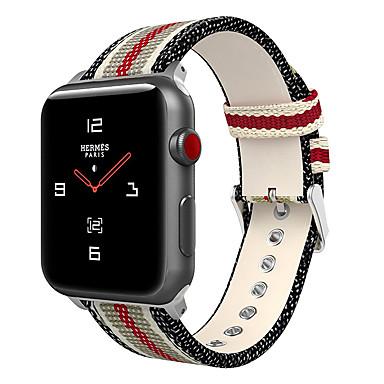 baratos Pulseira para Apple Watch-faixa de relógio para apple watch series 4/3/2/1 pulseira de nylon de apple sport band
