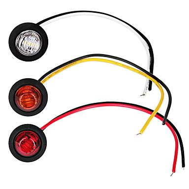 voordelige Automistlampen-2 stks auto gloeilampen 1 w 80 lm led mistlampen / richtingaanwijzers / zijmarkeringslichten voor universele algemene motoren alle jaar