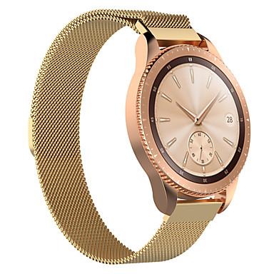 voordelige Horlogebandjes voor Samsung-Horlogeband voor Samsung Galaxy Watch 42 Samsung Galaxy Milanese lus Roestvrij staal Polsband