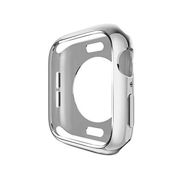 Недорогие Кейсы для Apple Watch-Кейс для Назначение Apple Apple Watch Series 4 / Apple Watch Series 3 / Apple Watch Series 2 PU Apple
