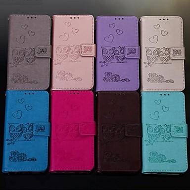 voordelige Huawei Y-serie hoesjes / covers-hoesje Voor Huawei Huawei Honor 10 / Honor 10 Lite / Honor 9 Portemonnee / Kaarthouder / Flip Volledig hoesje dier Hard PU-nahka