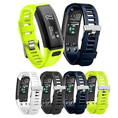cheap Watch Bands for Garmin-Watch Band for Vivosmart HR Garmin Sport Band Silicone Wrist Strap