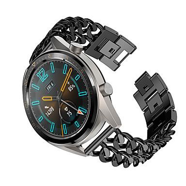 Недорогие Ремешки для часов Huawei-Ремешок для часов для Huawei Watch Huawei Современная застежка Металл / Нержавеющая сталь Повязка на запястье