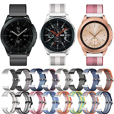 voordelige Horlogebandjes voor Samsung-Horlogeband voor Samsung Galaxy Watch 42 / Samsung Galaxy Active Samsung Galaxy Sportband Stof / Nylon Polsband