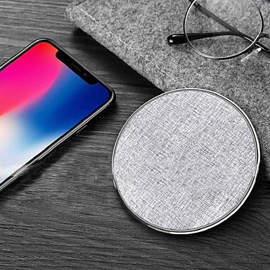 Недорогие Гаджеты для Samsung-Беспроводное зарядное устройство Зарядное устройство USB USB КК 2.0 / QC 3.0 / Беспроводное зарядное устройство 1 USB порт 1.1 A / 2 A DC 9V / DC 5V для iPhone X / iPhone 8 Pluss / iPhone 8