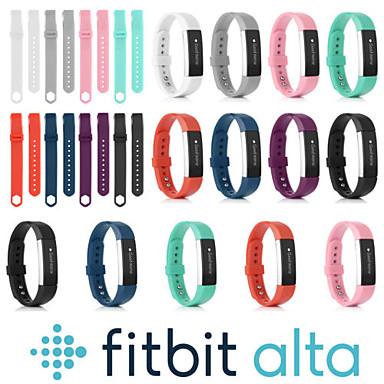 voordelige Smartwatch-accessoires-Horlogeband voor Fitbit Alta HR / Fitbit Alta Fitbit Sportband Silicone Polsband