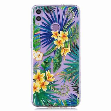 voordelige Huawei Y-serie hoesjes / covers-case voor huawei honor 8x / huawei p smart (2019) patroon / transparante achterkant tropisch regenwoud zachte tpu voor mate20 lite / mate10 lite / y6 (2018) / p20 lite / nova 3i / p smart / p20 pro