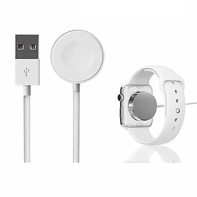 voordelige Apple Watch-bevestigingen & -houders-voor iwatchs 2 3 automatische adsorptie usb-kabel draadloze oplader voor apple watch draadloos magnetisch opladen