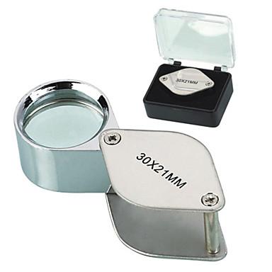 30X 30x21mm Arunca Forma Folding bijutier lui Eye Loupe Lupa lupă microscop