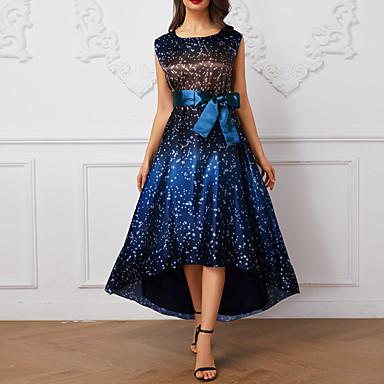 6bcc1f4da3d4 ... V Neck Summer Cotton Blue Black XL XXL XXXL · USD $17.99. $59.99. (4).  cheap Print Dresses-Women's Elegant Asymmetrical Swing Dress - Polka  Dot