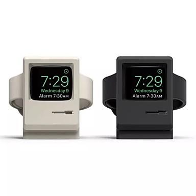 voordelige Apple Watch-bevestigingen & -houders-horloge oplaadstation apple watch all-in-1 kiezelgel bureau / bed pure oplaadbeugel