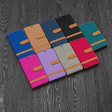 voordelige iPhone X hoesjes-hoesje voor apple iphone xr / iphone xs max magnetisch / flip / met standaard camerahoes tegel hard textiel voor iphone 5 / se / 5s / 6 / 6s plus / 7/8 plus / xs / x
