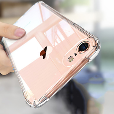 Case For Apple iPhone XS Max / iPhone 6 Shockproof Back Cover Solid Colored Soft TPU for iPhone XS / iPhone XR / iPhone XS Max