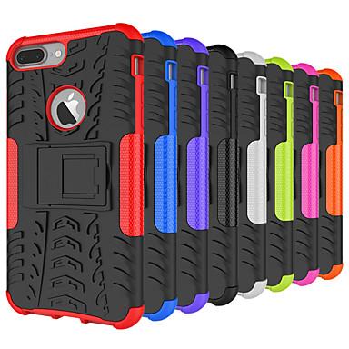 voordelige iPhone 5 hoesjes-hoesje Voor Apple iPhone XS / iPhone XR / iPhone XS Max Schokbestendig / met standaard Achterkant Geometrisch patroon Hard Siliconen / PC