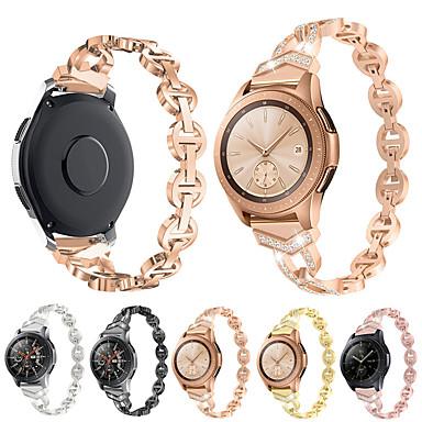 voordelige Horlogebandjes voor Samsung-Horlogeband voor Samsung Galaxy Watch 46 / Samsung Galaxy Watch 42 Samsung Galaxy Klassieke gesp Metaal Polsband