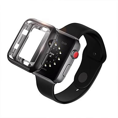 Недорогие Кейсы для Apple Watch-для яблочных часов серии 4 3 2 1 iwatch 38/42/40/44 мягкий бампер из тпу