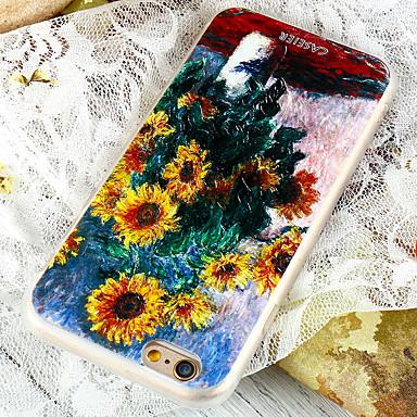 Недорогие Чехлы и кейсы для Galaxy S6-Кейс для Назначение SSamsung Galaxy S8 Plus / S8 / S7 edge Водонепроницаемый / Защита от пыли / С узором Кейс на заднюю панель Цветы ТПУ