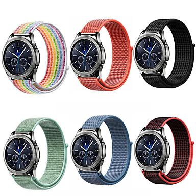 billige Klokkeremmer til Huawei-20 22mm watch band for Samsung Galaxy Watch 46mm 42mm gear s3 Frontier Classic S2 Sport nylon Amazfit Bip Huawei Klokke GT REM