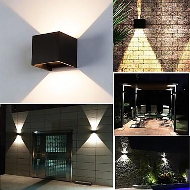 economico Applique per esterni-ONDENN 10 W Fari LED Decorativo Bianco caldo / Luce fredda 85-265 V Residenziale / All'aperto / Salotto / sala da pranzo 2 Perline LED