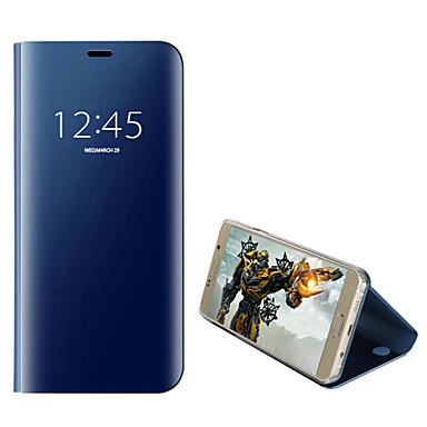 Недорогие Чехлы и кейсы для Galaxy Note 4-Кейс для Назначение SSamsung Galaxy Note 9 / Note 5 / Note 4 Покрытие / Флип / Авто Режим сна / Пробуждение Чехол Однотонный Твердый ПК