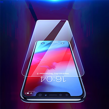 voordelige iPhone screenprotectors -screen protector voor apple iphone xr / iphone xs / iphone x / iphone xs max gehard glas 1 pc front screen protector hoge definitie (hd) / 9h hardheid / explosiebestendig